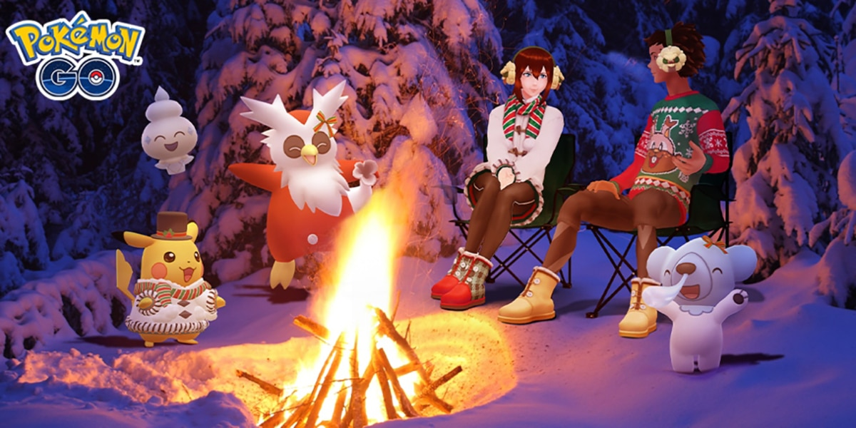 Pokémon GO en Navidad