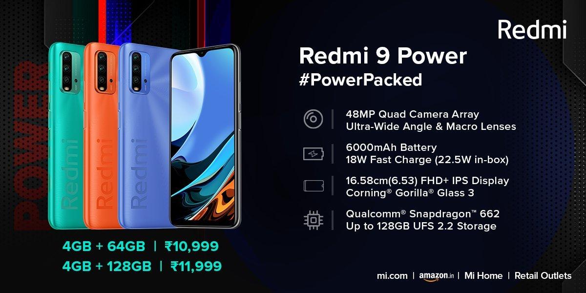 Redmi Power 9 4g