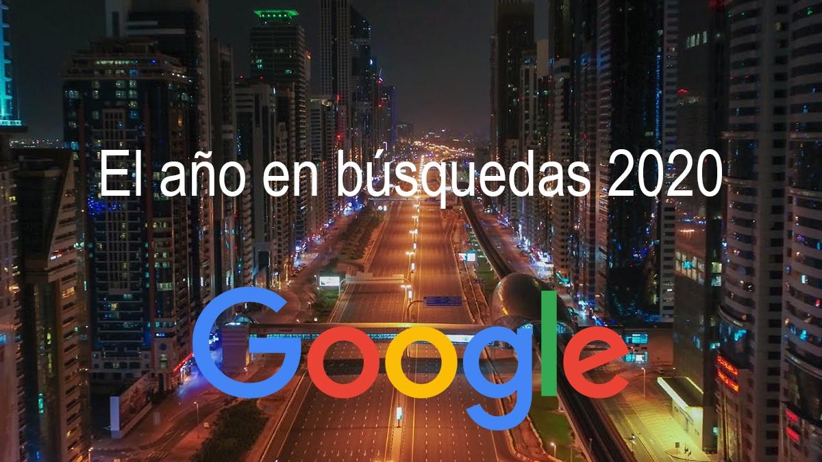 Búsquedas Google 2020