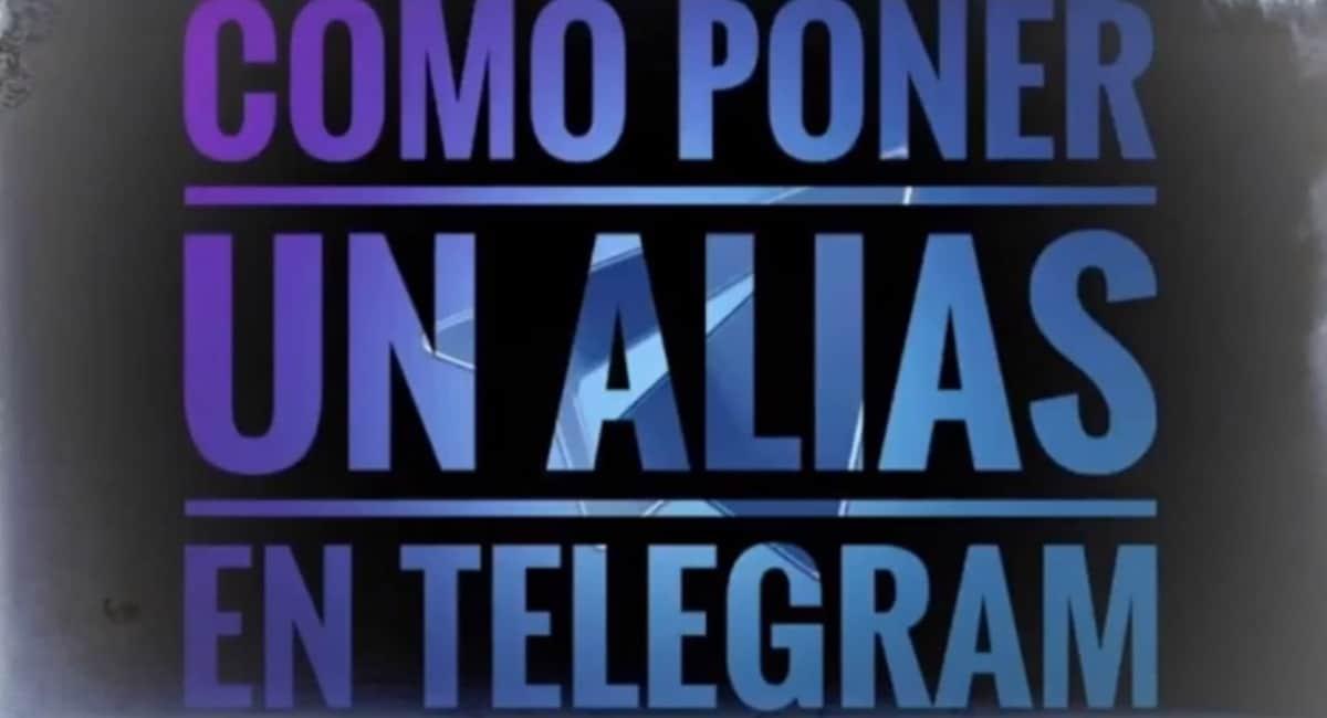 Poner alias Telegram