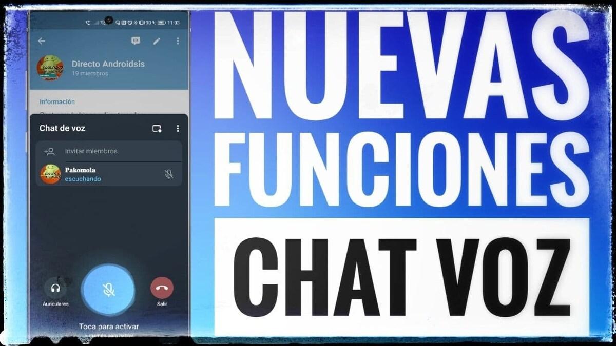Nuevas funciones chat voz