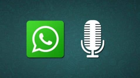 WhatsApp nota voz
