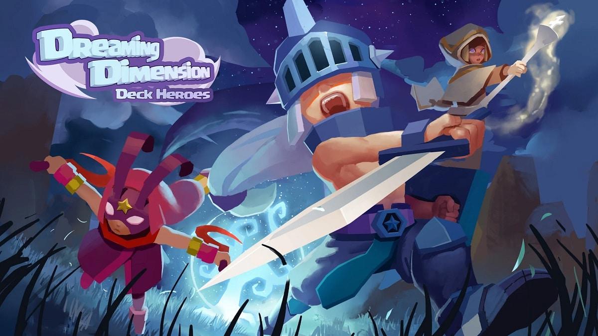 Dreaming Dimension: Deck Heroes es un juego de cartas rogue-like que te lleva a un mundo de fantasía