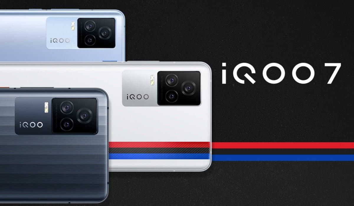 iQOO 7 colores