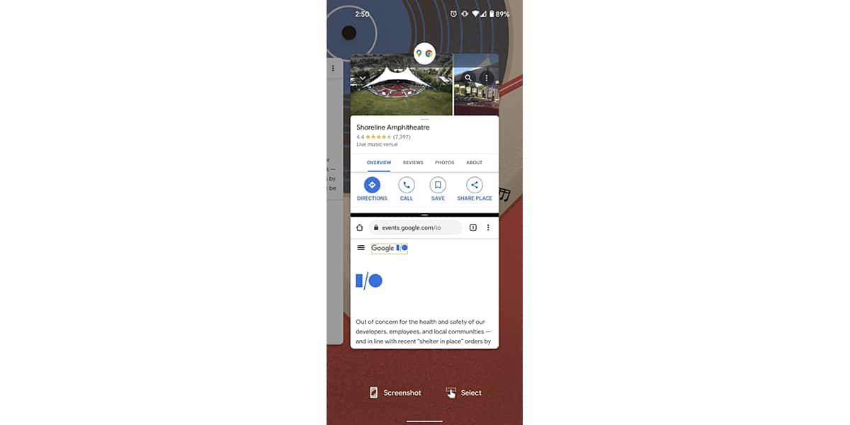 Mockup de App Pairs en Android 12