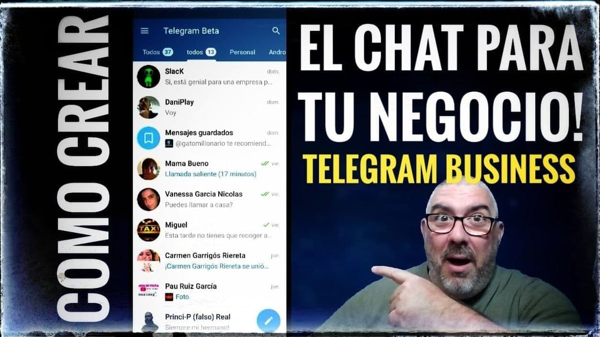 Portada Telegram™ Business