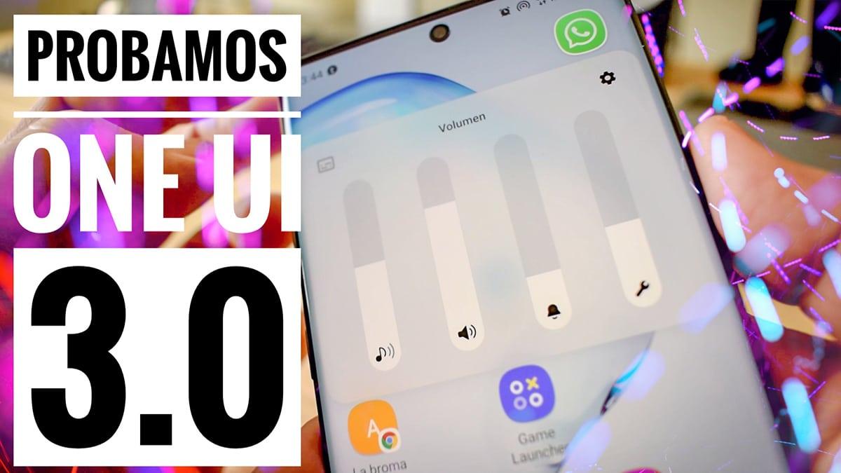 Probamos ONE UI 3.0: sus mejores novedades