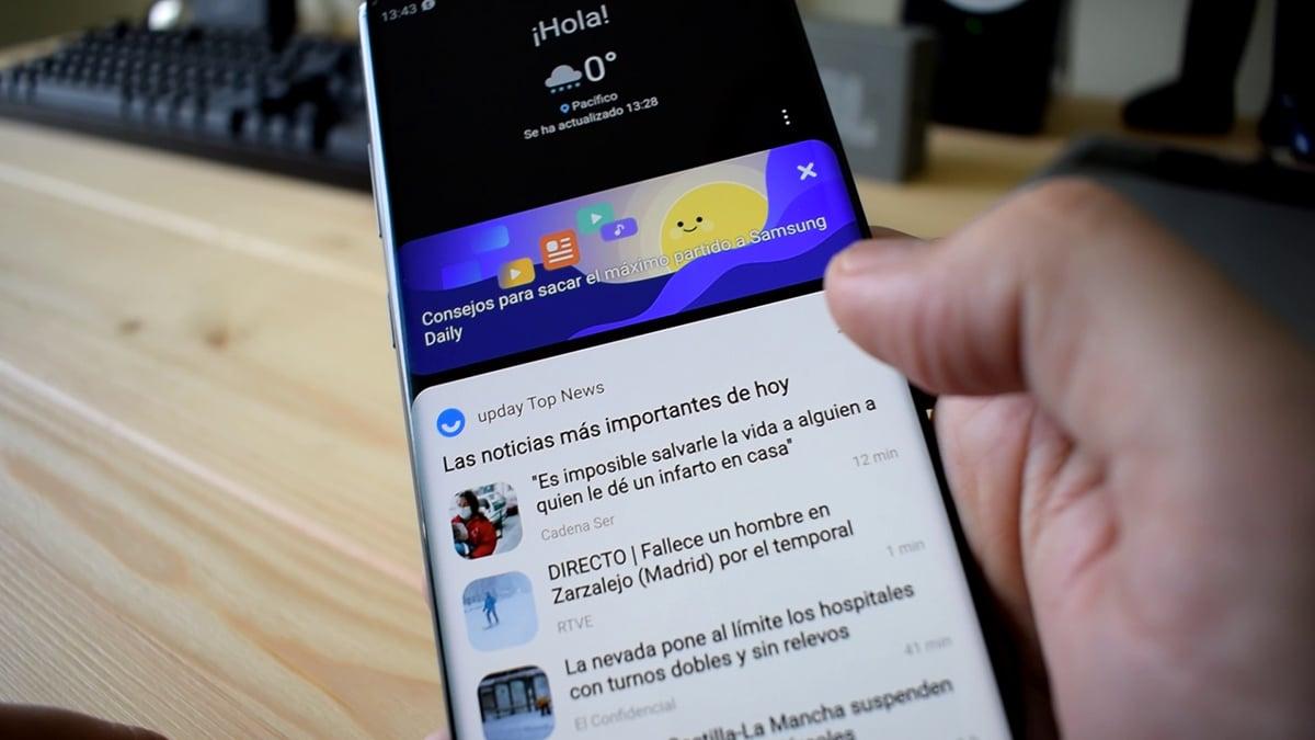 Samsung Free en One UI 3.0