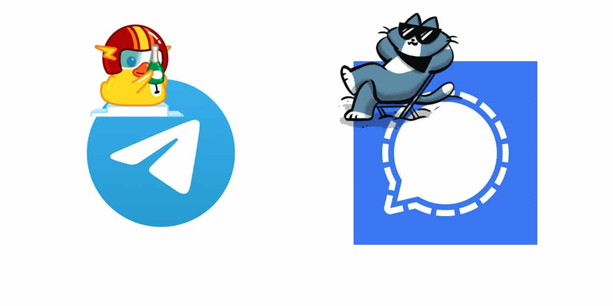 Signal o Telegram