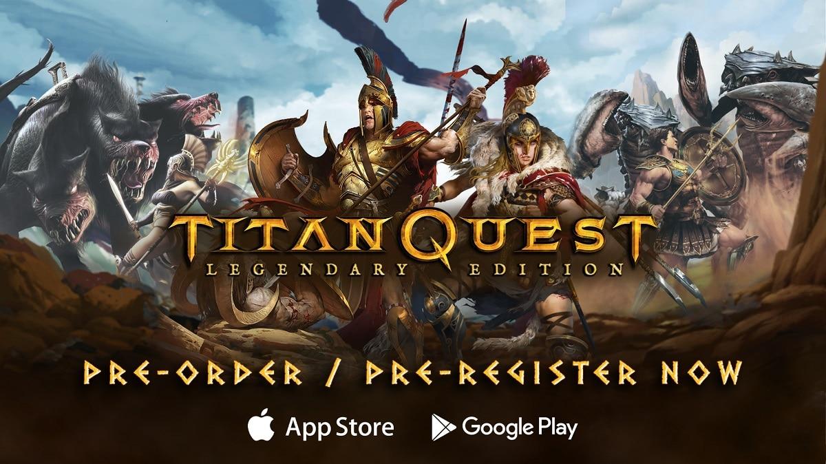 Titan Quest: Legendary Edition se lanzará el próximo mes en Android