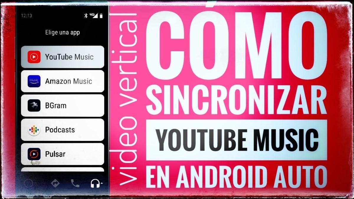 Android Auto Sincronizar YouTube