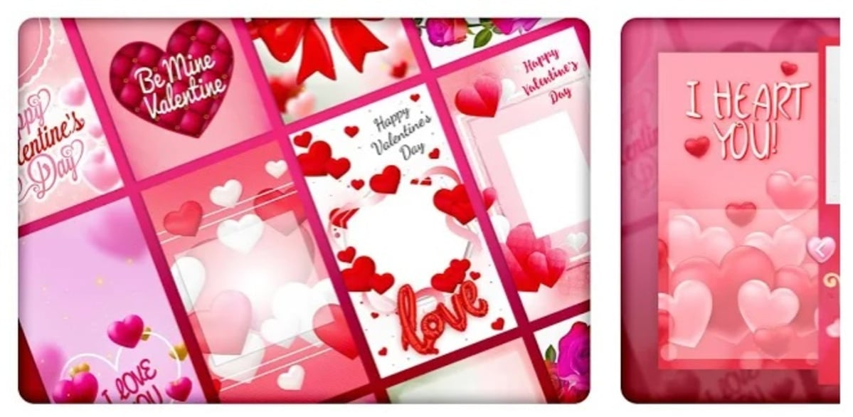 Creador de tarjetas San Valentín