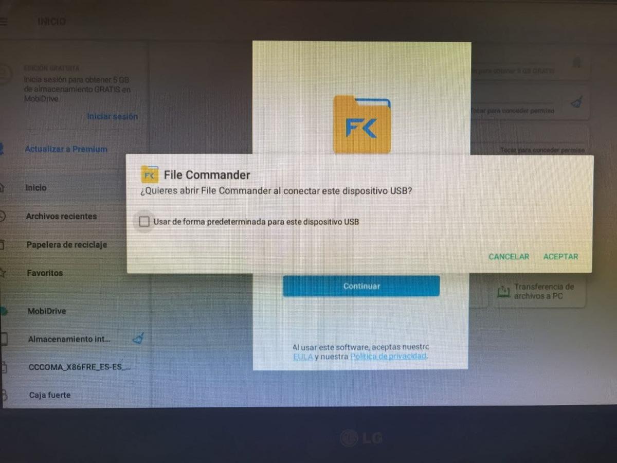File commander AX9