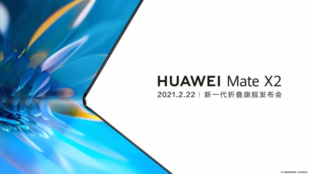 Fecha de lanzamiento del Huawei Mate X2