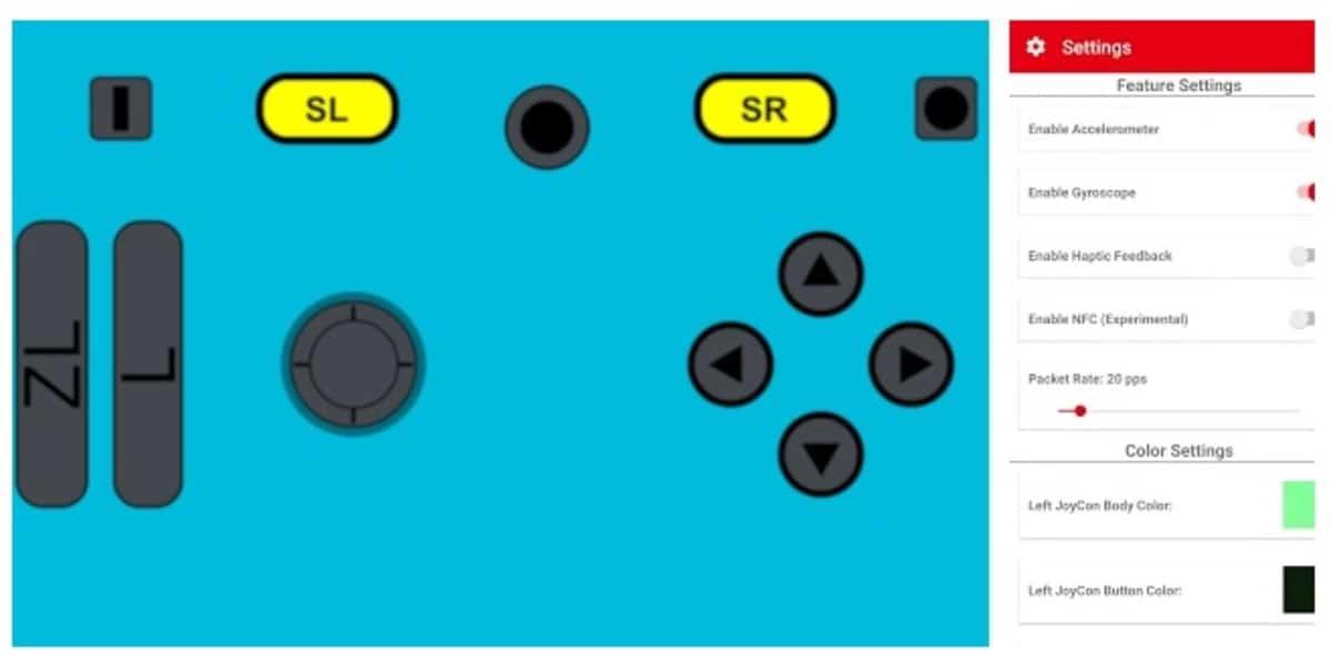 JoyCon Switch