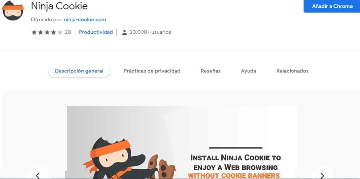 Ninja Cookie Chrome