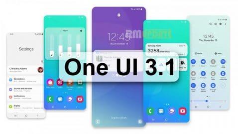 One UI 3.1