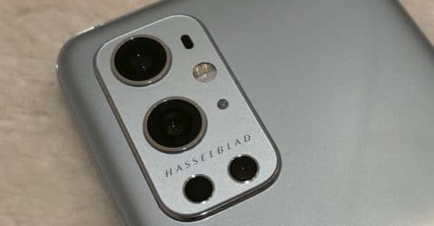 Foto real del OnePlus 9 Pro