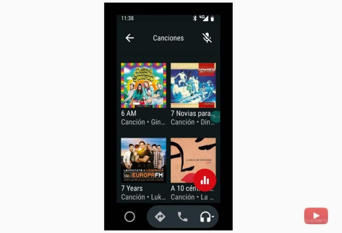 YT Music Android Auto