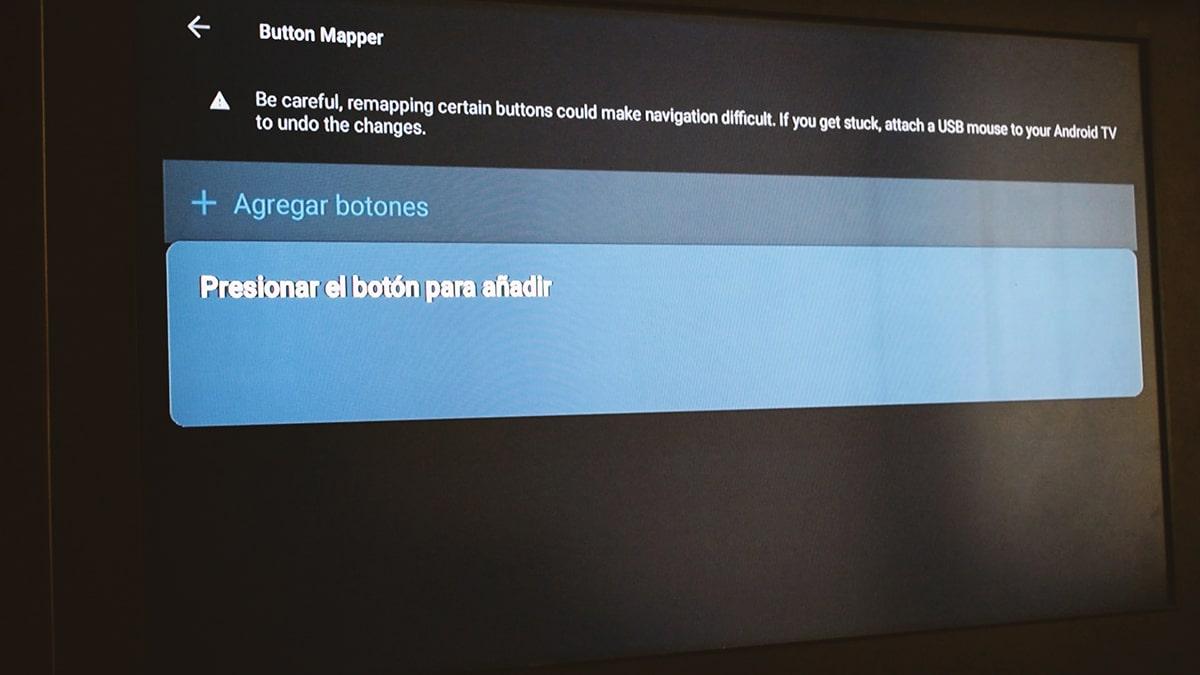 Cambiar botones mando Chromecast TV