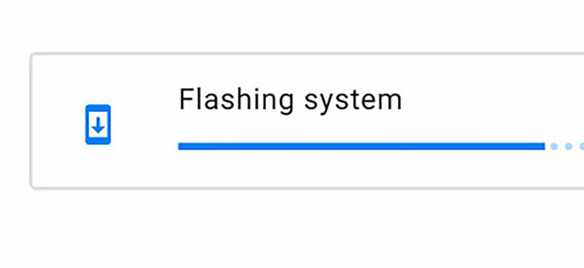 Flasheando ROM desde la web