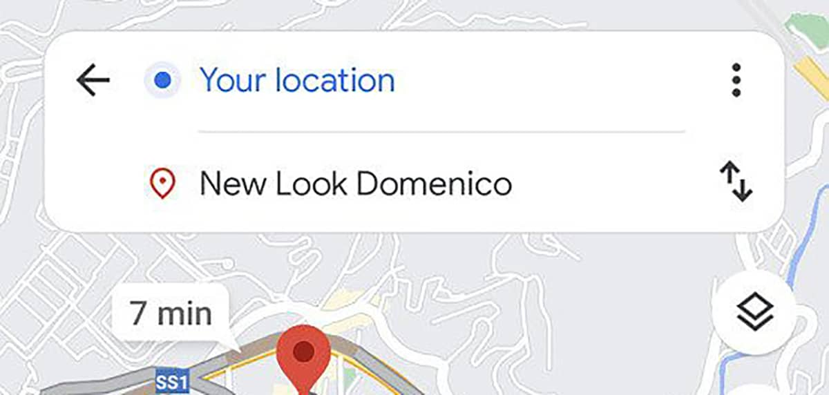 Google Maps rutas opcionales