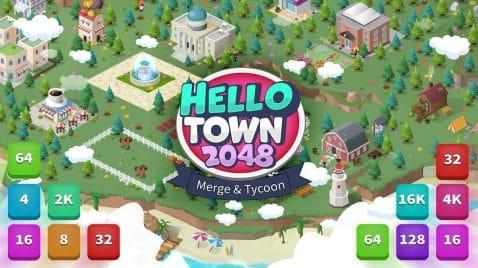 Hello Town 2048
