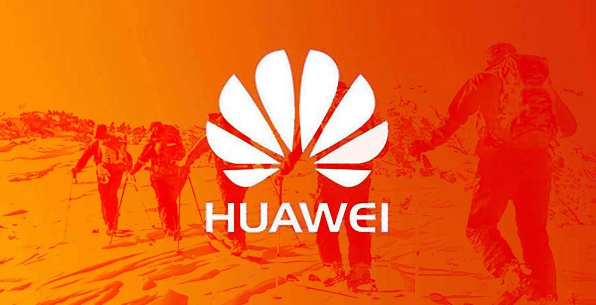 Huawei mitad producción