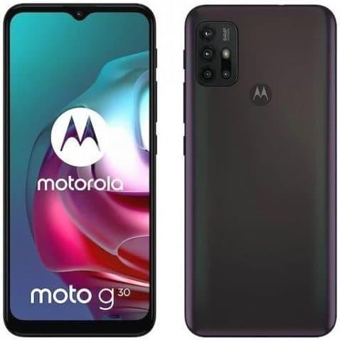 Motorola Moto™ G30 filtrado