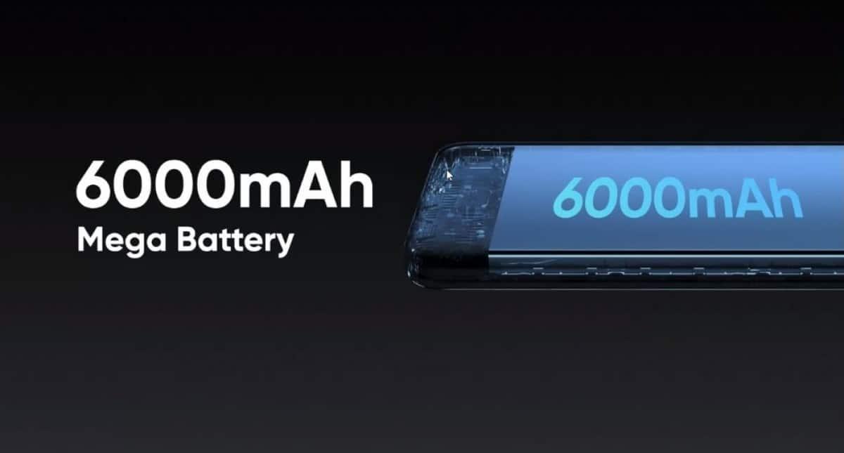 Narzo 30A batería