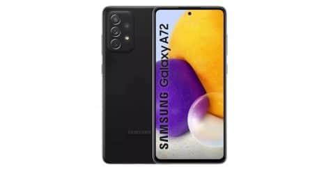 Renders del Galaxy A72 4G de Samsung