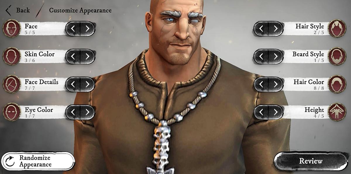 Warhammer Oddisey en Android