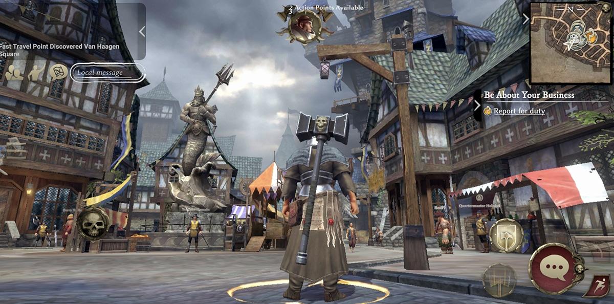 Capital en Warhammer Oddisey