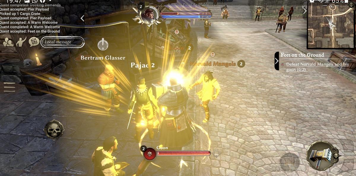 Efectos en Warhammer Oddisey
