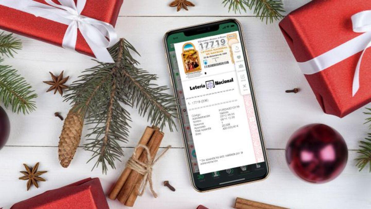 App loteria Navidad