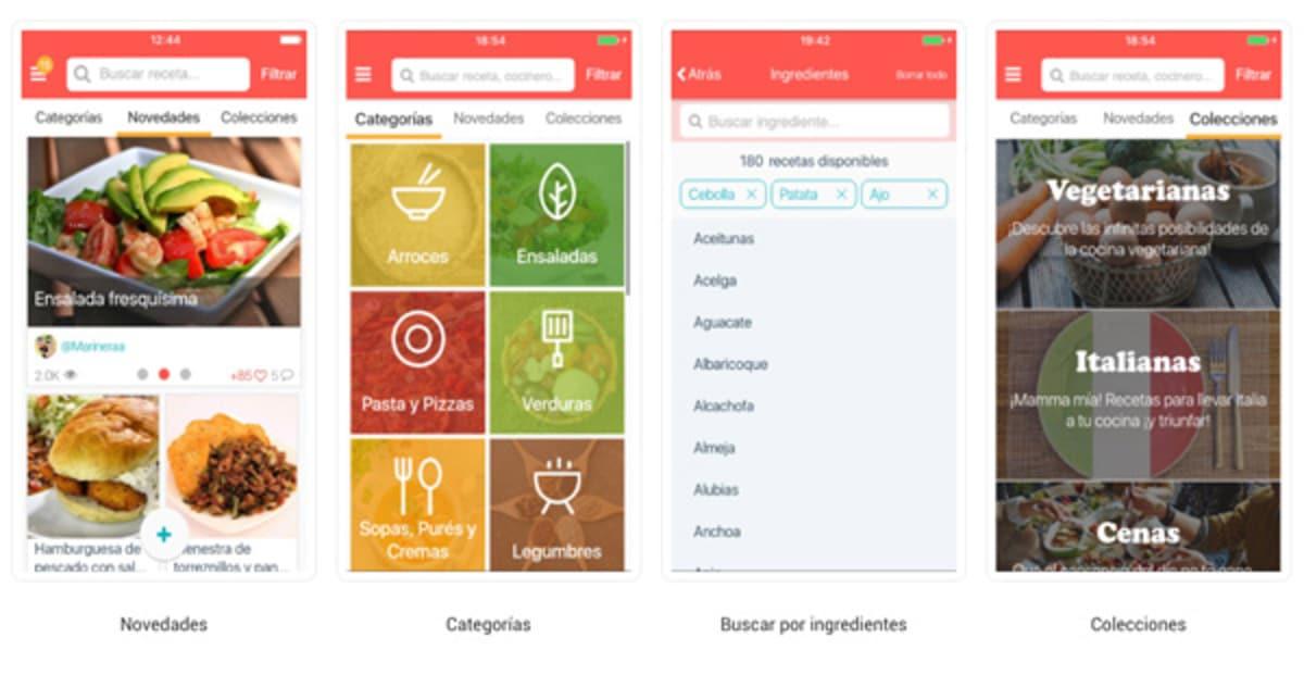 App de recetas