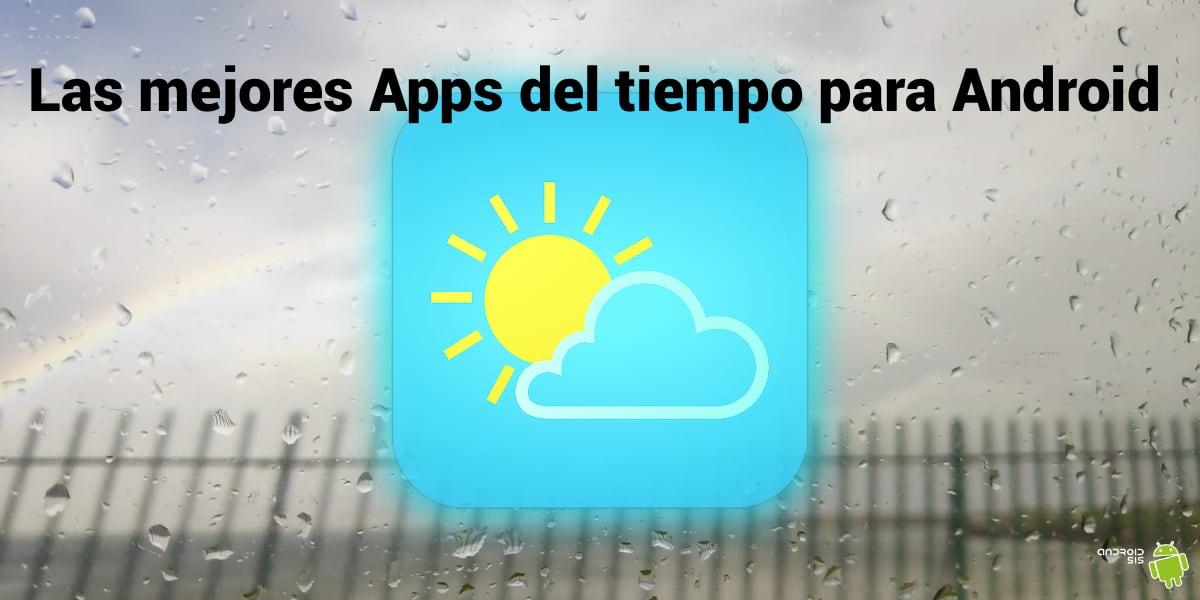 Apps del tiempo