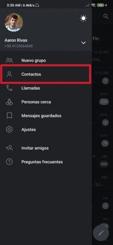 Cómo saber qué contactos de WhatsApp están en Telegram