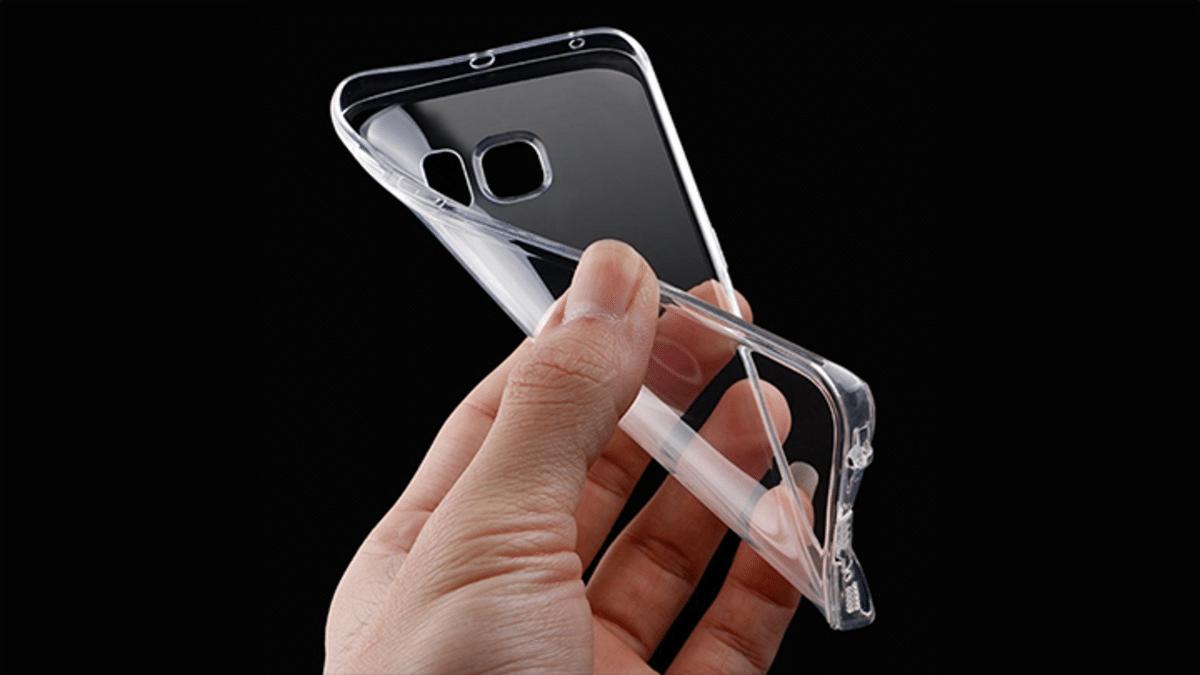 Funda silicona transparente
