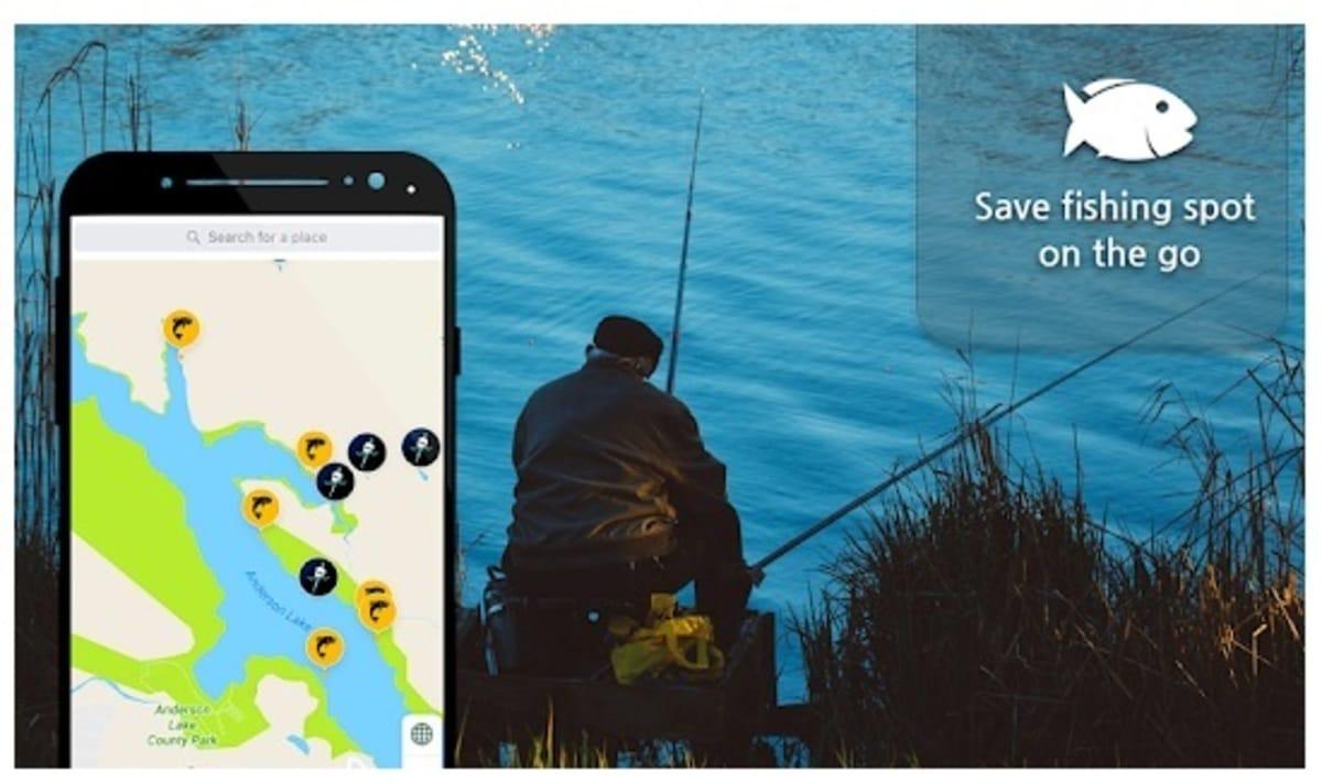 Mapas de pesca española