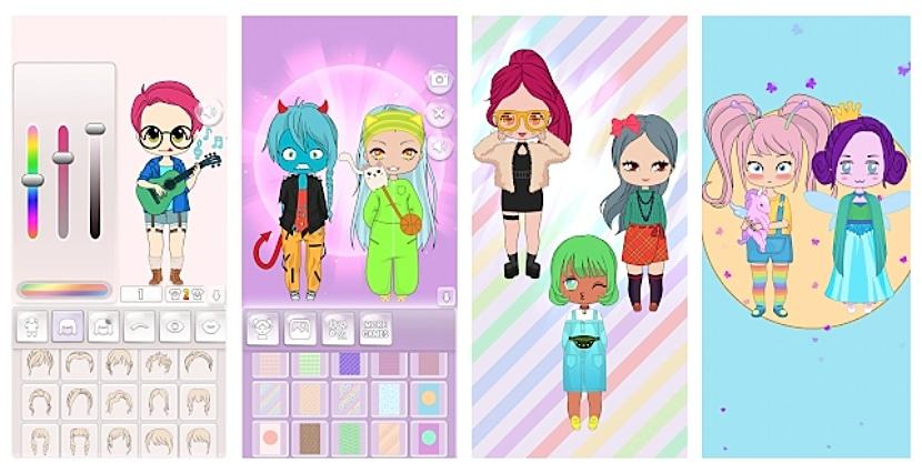Muñecas Chibi - Creador de avatar