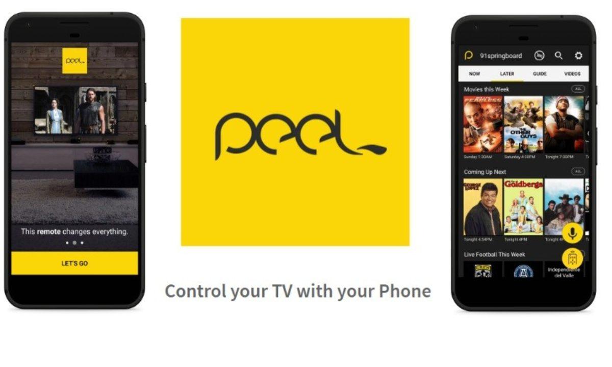 Peel Remote Smart TV