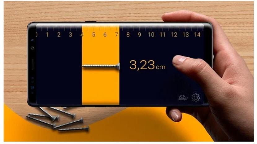 Prime Ruler - Regla, medición longitud por cámara