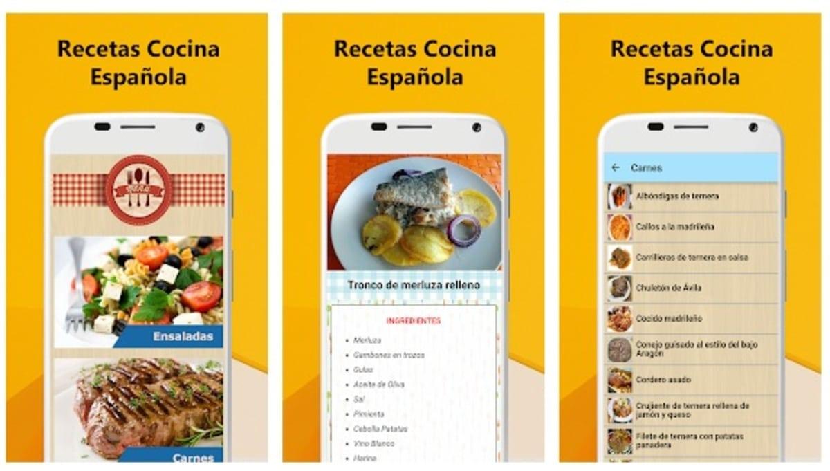 Recetas cocina española