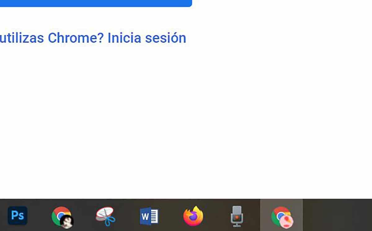 Acceso directo a los perfiles en Chrome™ desde barra de tareas