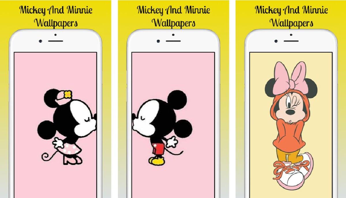 Mickey y Minnie fondos de pantalla