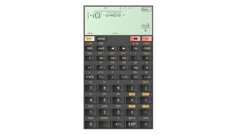 Hiper Scientific Calculator