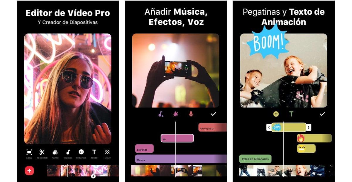 Inshot - juntar vídeos en Android