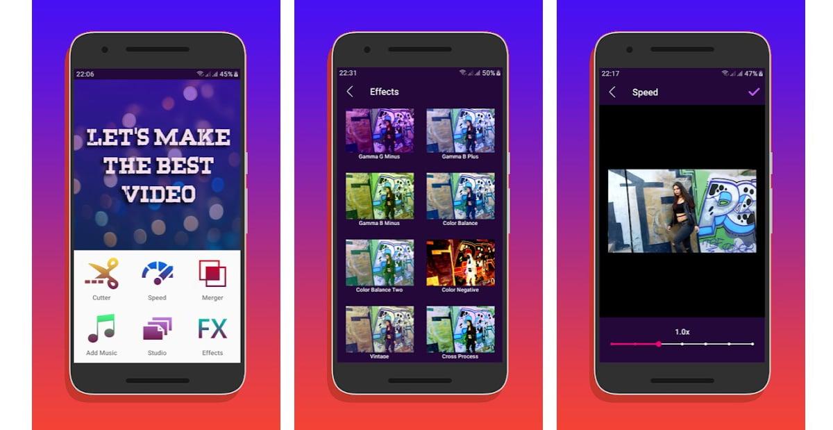 Juntar vídeos en Android