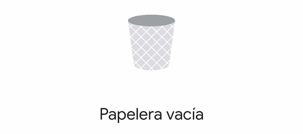 Papelera en Android™ 11